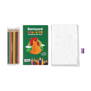 Farm Animals Stencil Kit