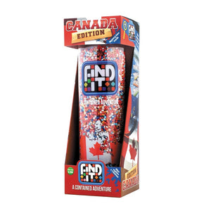Find it canada edition hidden object game games brightly colored colors colorful educational adventure themed spin twist shake adults children travel learning center activity time game canada puzzles puzzle games clearance