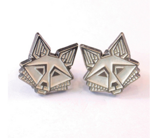 Fox Stud Earrings Vanilla
