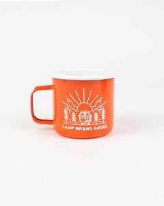 Going to the Sun Enamel Mug 16 Oz