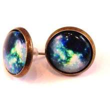 Load image into Gallery viewer, Galaxy Dome Earrings
