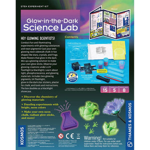 Glow-In-The-Dark Science Lab
