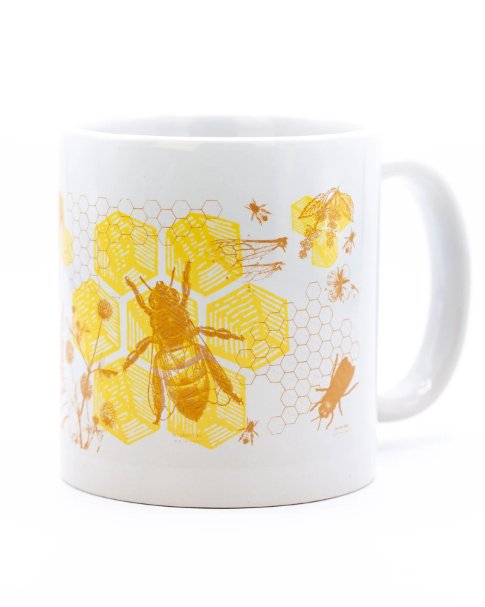 Honey Bees 20 oz Mega Mug