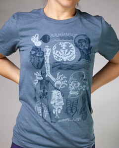 Human Anatomy Graphic Tee
