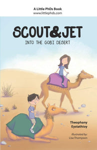 Scout & Jet: Into the Gobi Desert