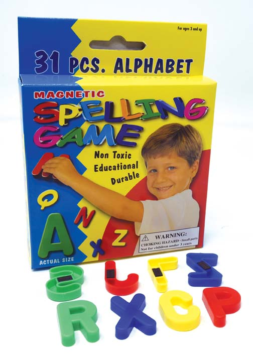 Magnetic Letters (Uppercase)