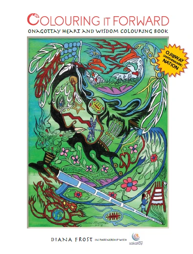 Onogottay Heart & Wisdom Colouring Book - Ojibway (Anishinaabe)