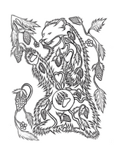 Load image into Gallery viewer, Onogottay Heart & Wisdom Colouring Book - Ojibway (Anishinaabe)
