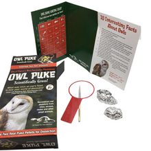 Load image into Gallery viewer, Owl Puke Science Kit