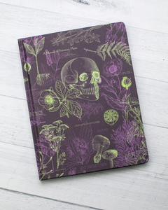 Poisonous Plants Hardcover Journal Lined/Grid