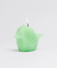 Load image into Gallery viewer, pyro pet bibi neo mint icelandic paraffin wax iceland cotton wick aluminum gift box unique 54 celsius candle animal skeleton bird birds