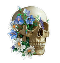 Load image into Gallery viewer, Skull with Flowers Sticker