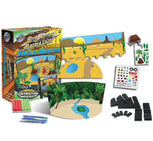 Safari Movies - Stop Motion Animation Kit