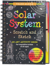 Load image into Gallery viewer, Scratch and Sketch Solar System