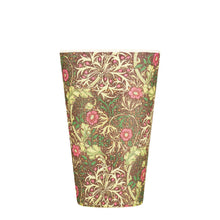 Load image into Gallery viewer, Ecoffee Reusable Bamboo Cup - William Morris Seaweed