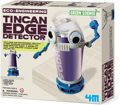 Tincan Edge Detector 4M green science eco-engineering engineering ages 8+ environment environmental recycle recycling science invent build
