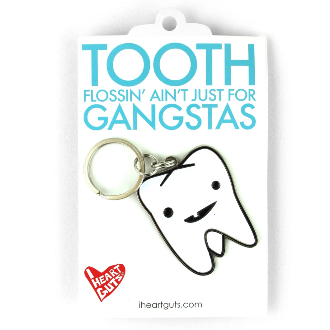 Tooth Keychain
