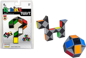 rubik's twist colorful classic brainteaser game games puzzle puzzles shapes ball ages 8+