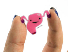Load image into Gallery viewer, Uterus Pin
