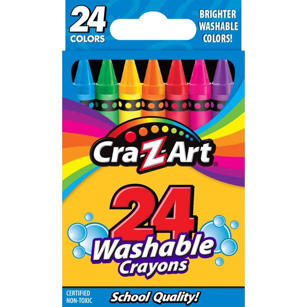 Cra-Z-Art 24ct Washable Crayons