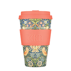 Ecoffee Reusable Bamboo Cup - William Morris Thief