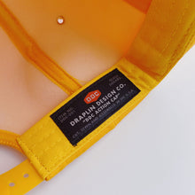 Load image into Gallery viewer, Aaron Draplin Space Shuttle Cap Yellow