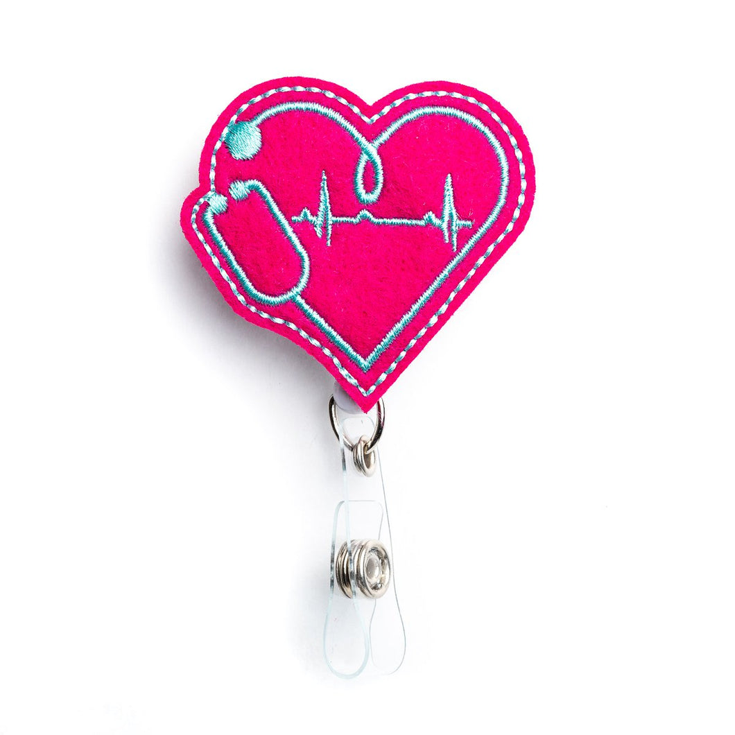 EKG Badge Reel