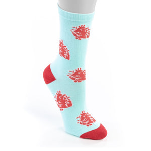 Anatomical Heart Socks