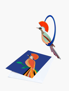 Swinging Crowned Obi Pop-Out Greeting Card