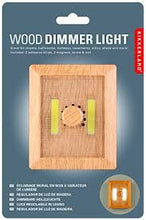 Load image into Gallery viewer, Wood Dimmer Light