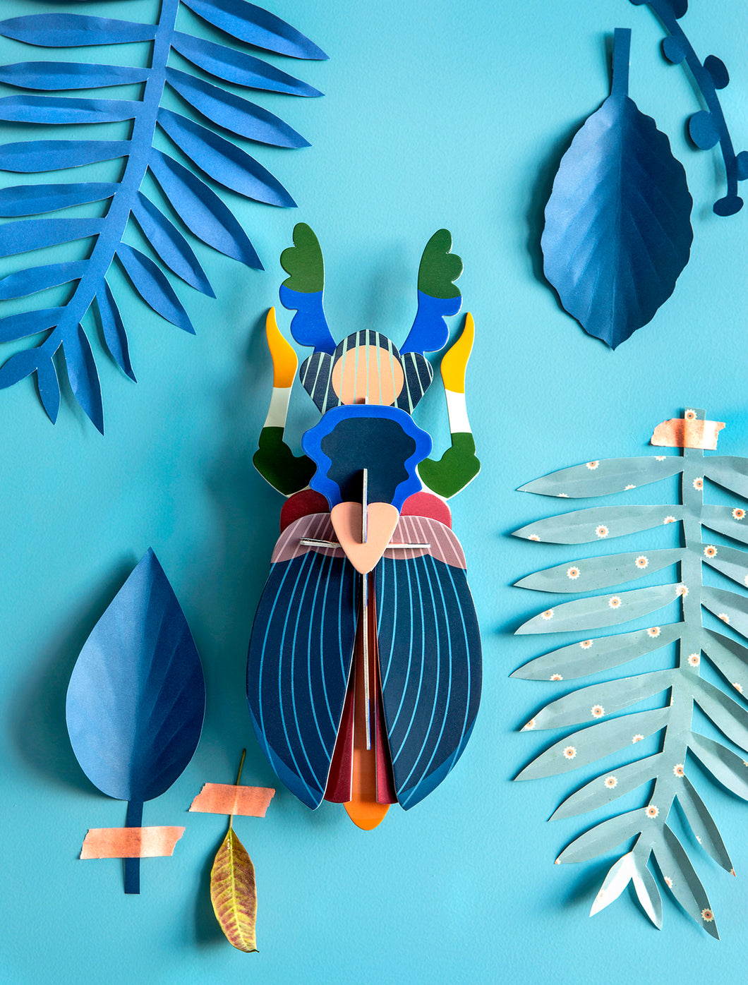Japanese Beetle Paper Decoration