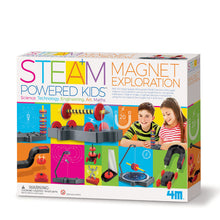Load image into Gallery viewer, STEAM Kids Deluxe Magnet Exploration