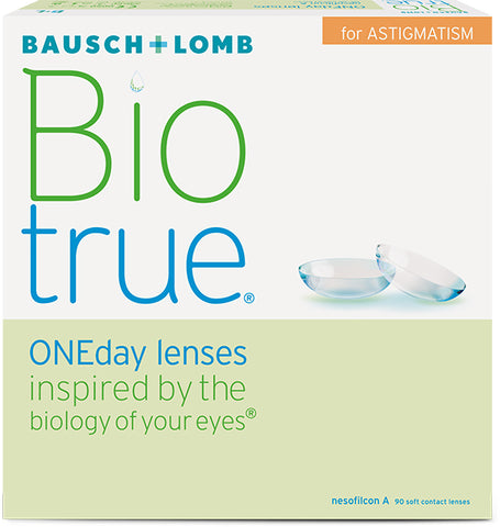 Biotrue ONEday for Astigmatism 180 Pack