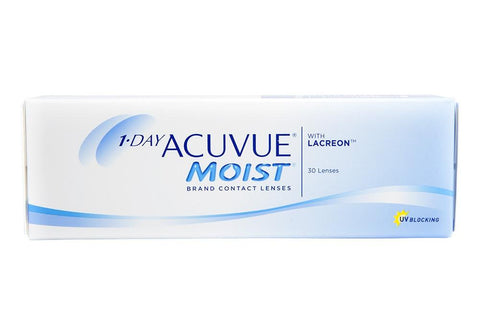 1 Day Acuvue Moist 8.5 BC 30 pack