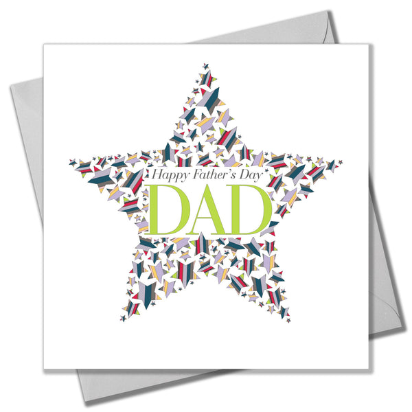 Father's Day Card, Dad in a Star