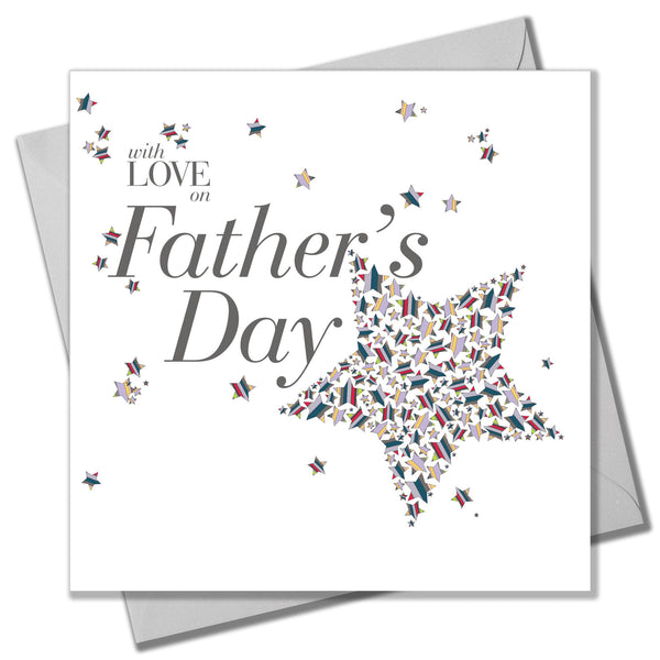 Father's Day Card, Love and Stars