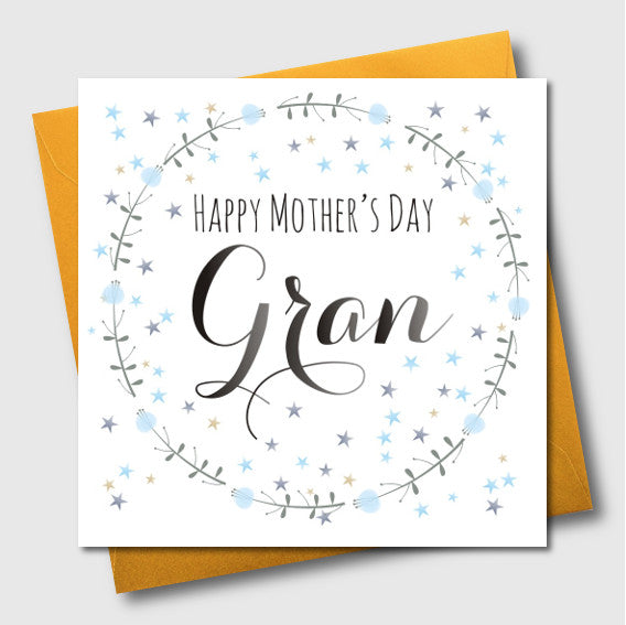 Mother's Day Card, For Gran, Gran