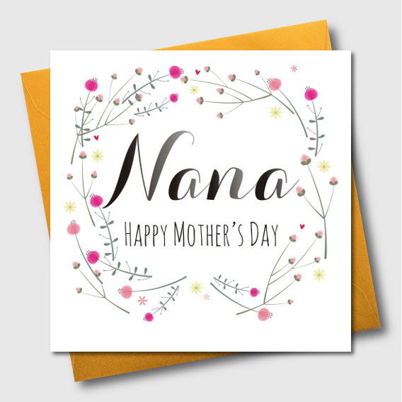 Mother's Day Card, For Nana, Nana