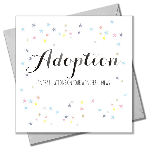 Baby Card, Dots, Adoption, Congratulations on your Wonderful News