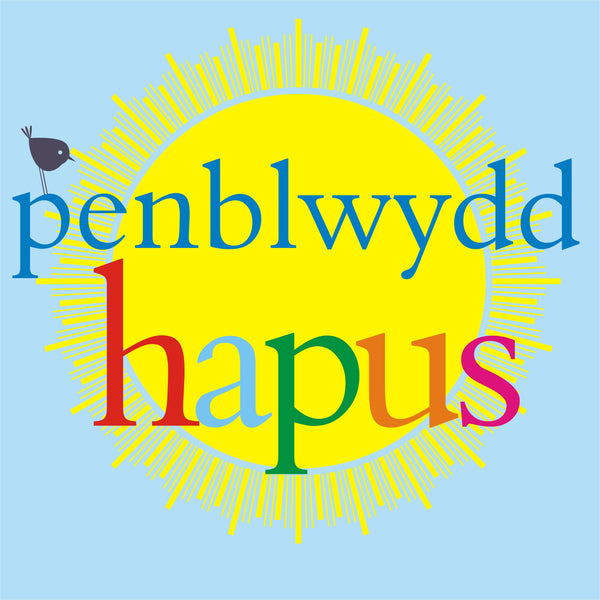 Welsh Birthday Card, Penblwydd Hapus, Sun, Wishing you a very Happy Birthday