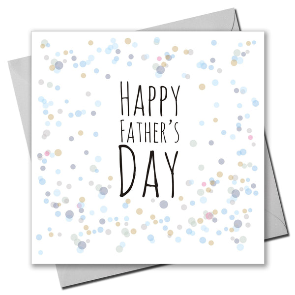 Father's Day Card, Dots, Happy Father's Day