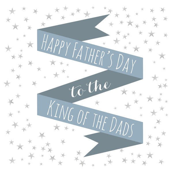 Father's Day Card, King of Dads