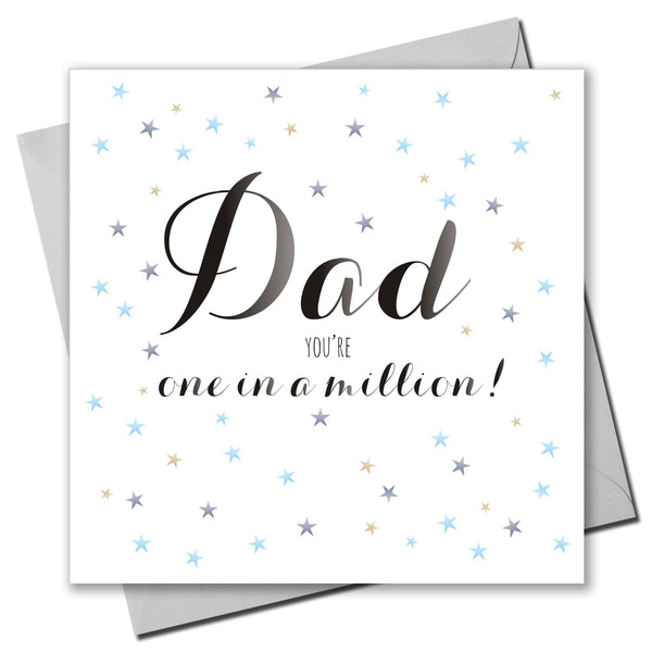 Father's Day Card, Stars, Dad, You're One in a Million!
