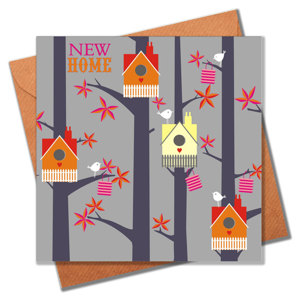 New Home Card, Bird Houses, New Home