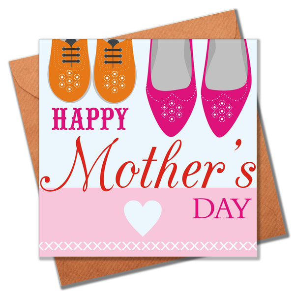 Mother's Day Card, Shoes, Happy Mother's Day