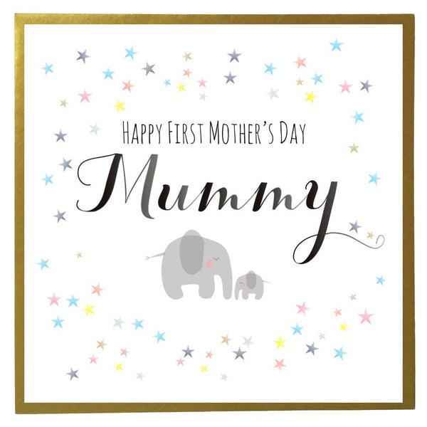 Mother's Day Card, First Mother's Day, Mummy, Mummy