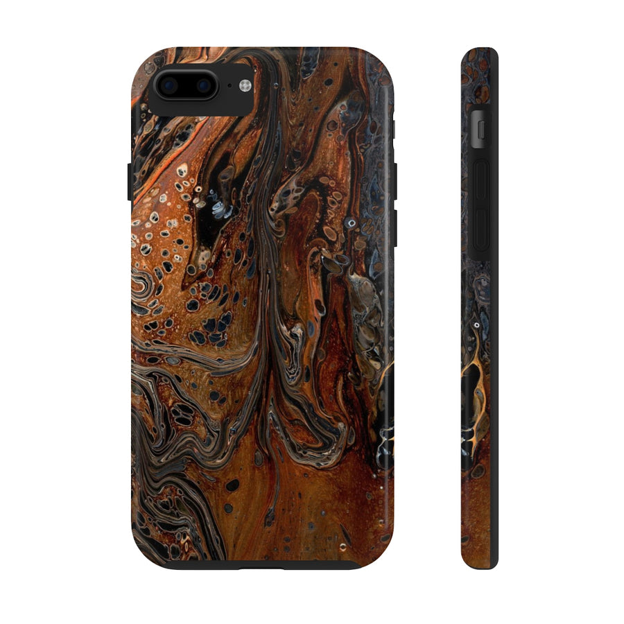 Acrylic Pour Art Phone Case