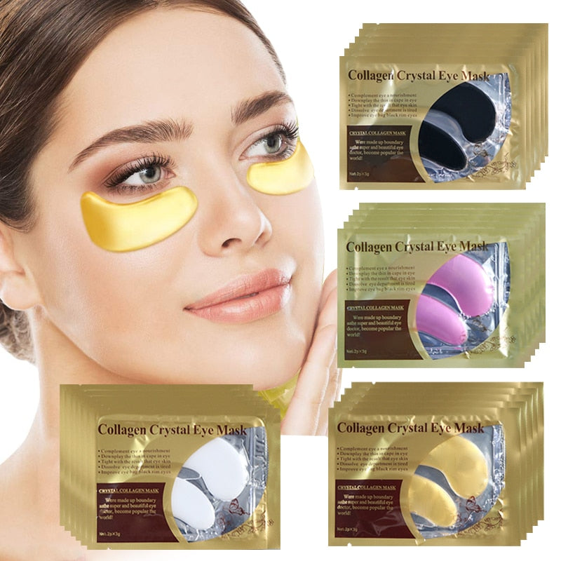 Golden Wonder Eye Mask