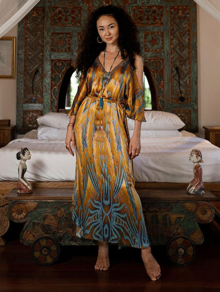 Arte Open Sleeve Dress