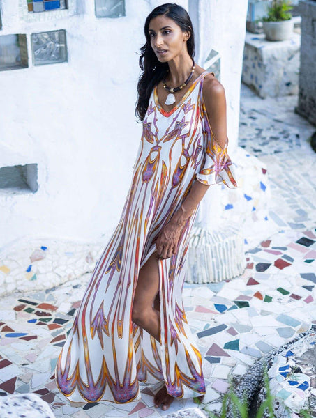 Dreamcatcher Open Sleeve Dress